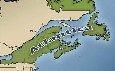 Narco News The Age Of Atlantica As Goes Mexico So Goes The US - New yorker map of the us